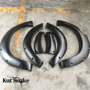 Kut Snake plastic fender flares Nissan Navara D23 NP300 for cars without ADBlue 50 mm